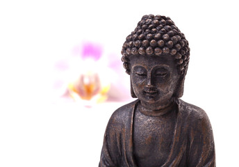 Buddha, Blüte, Zen