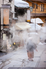 Hot spring resort town Shibu Onsen