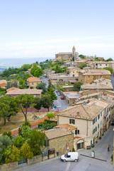 Italian town of Montalcino.