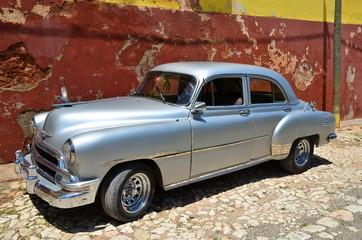 Beautiful cars of Cuba, Trinidad