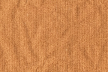 Recycle Striped Brown Kraft Paper Crumpled Grunge Texture