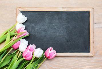 Tafel Tulpen Blanko
