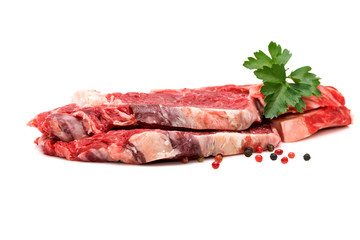 Tranche viande de bœuf