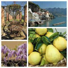 Amalfi Coast collage