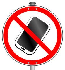 Handy Smartphone Verbot  #150322-03