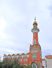 The Zakabannaya Mosque in Kazan