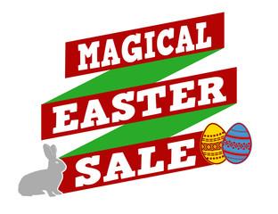Magical Easter sale banner design