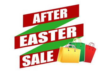 After Easter sale banner design