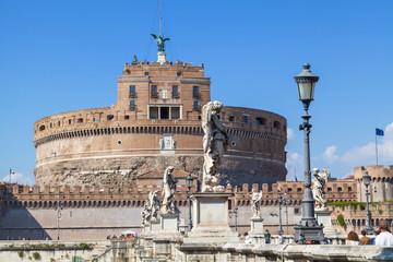 Castel Sant'Angelo in Rome, Italy.