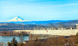The Dalles-Talsperre in Oregon