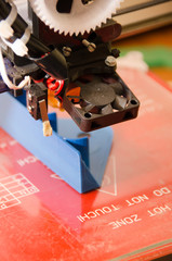 3D Printer head focus