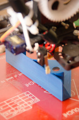 3D Printer print in focus