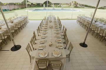 Decor Dining Tent Tables Chairs