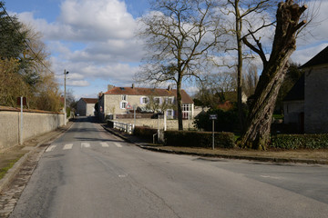 France, the picturesque village of Andelu