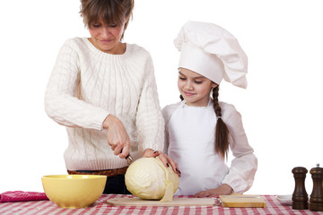 Cooking and people concept