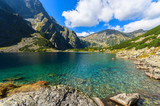 Beautiful Czarny Staw lake in summer, Tatra Mountains, Poland