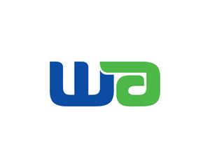 WA lettermark