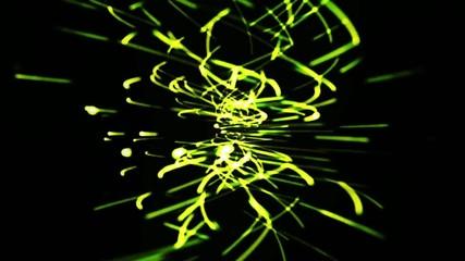 ゆらぎ 抽象 波 光 背景 星 宇宙
