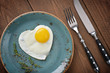 Leinwanddruck Bild - Fried egg