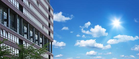 Moderner Wolkenkratzer