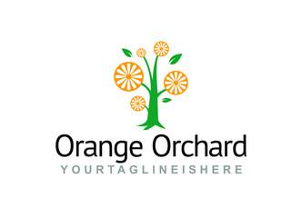 Orange Orchard - Logo Template