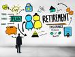 Businessman Retirement Qualification Occupation Concept - 80287274