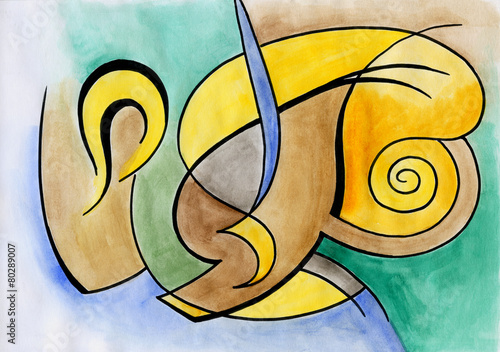 Abstract art design © tereks