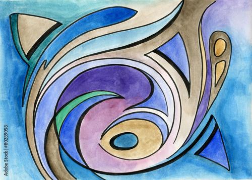 Abstract art design © tereks