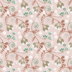 Seamless ornamental pattern decoration elements texture backgrou