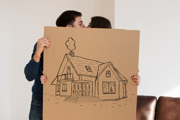 Mortgage and credit concept