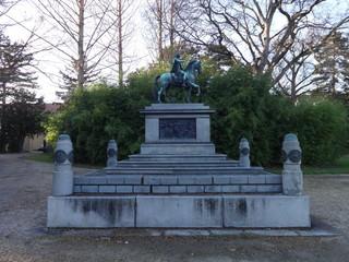 Schoenbrunn Statue