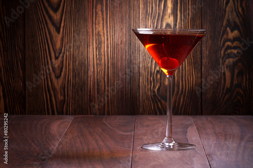 Foto op Plexiglas Alcohol Manhattan cocktail