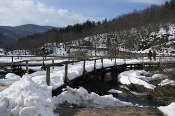 winter - plitvicka jezera
