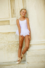 Ballet, ballerina -  beautiful ballet dancer, portrait
