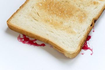 jam sandwich fallen