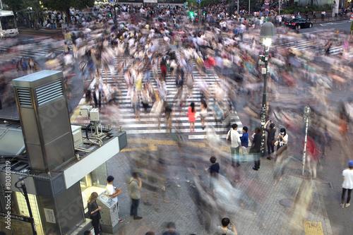Tuinposter Overige Shibuya crossing
