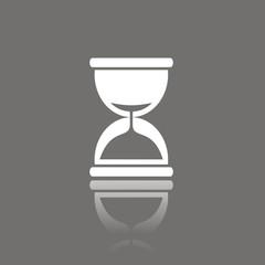 Icono reloj de arena FO reflejo