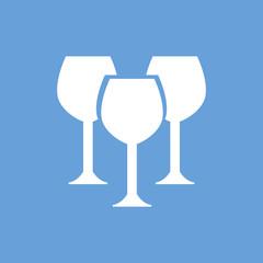 Stemware white icon