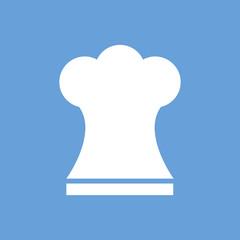 Chef white icon