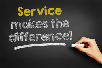 Service makes the difference!