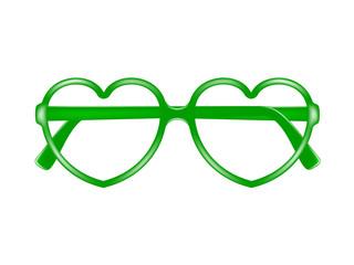 Sun glasses frame in shape of heart