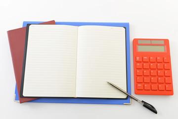 計算機とノート