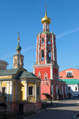 High-Petrovsky male monastery in Moscow