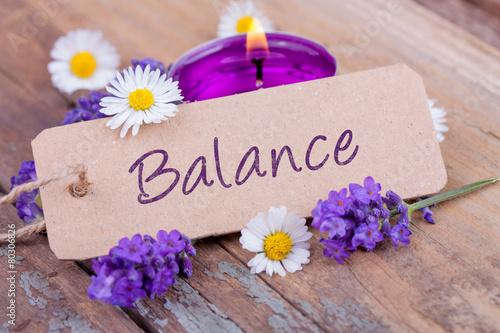Poster Balance