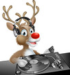 DJ Christmas Reindeer