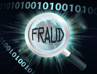 Internet Fraud concept