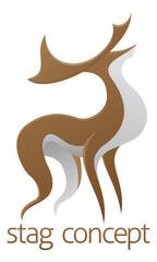Deer stag design