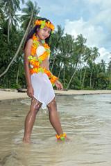 Hawaii Hula woman