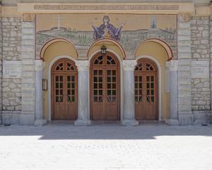 Kalavryta, Greece, the holy assumption of virgin Mary church