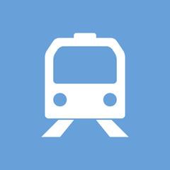Train white icon